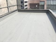 台東区某ビル塩ビシート防水